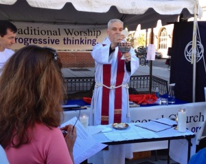 All Souls Welcomes at the 17th Street Festival, September 14, 2013