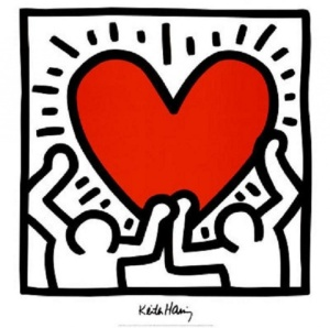 Keith Haring Graphic