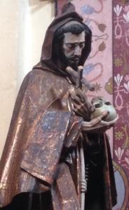My favorite image of St. Francis in town. Convento de San Antonio de Padua, (church begun in 1628), Querétaro.