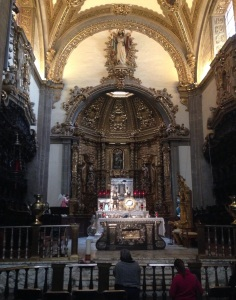 Chapel of the Blessed Sacrament in the old basilica, Tepeyac