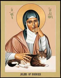 Julian of Norwich, 1342-1416.