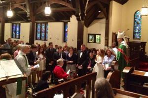 Bishop Budde's Visitation to All Souls in 2013