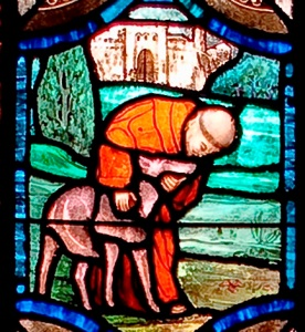 St. Francis Tames the Wolf, All Souls Memorial Episcopal Church, Washington, DC
