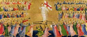 Fra_Angelico, Forerunners for Christ from the Fiesole Altarpiece, c. 1423-24