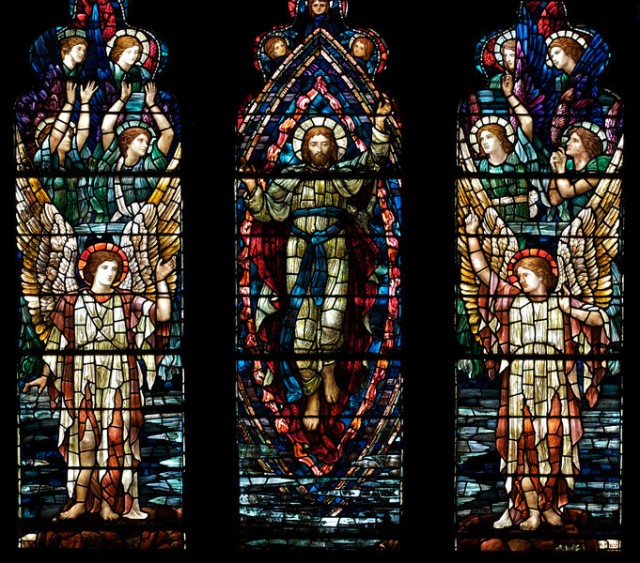 Holy Trinity Ascension Window