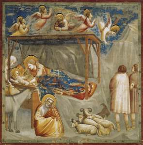 nativity-birth-of-jesus by Giotto