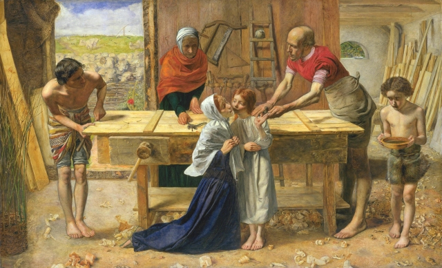 Millais_Christ in the House of His Parents