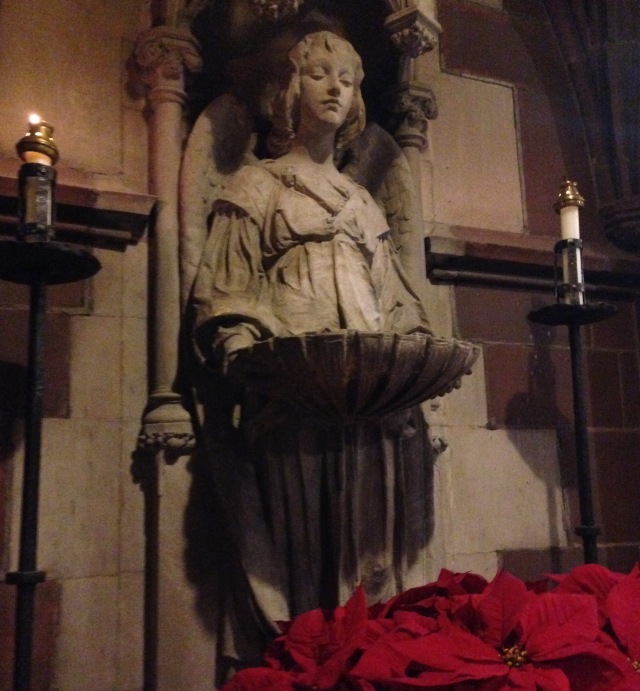 Stewart Memorial Font at Holy Trinity NYC