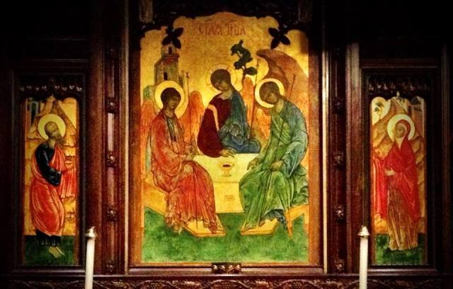 Holy Trinity Icon by John Walsted