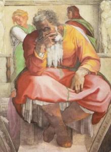 Jeremiah by Michelangelo_Buonarroti_027