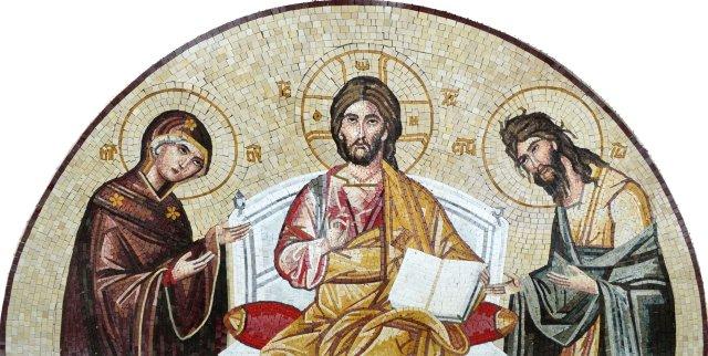 Jesus preaching
