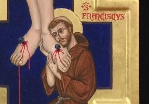 Crucifix draft detail