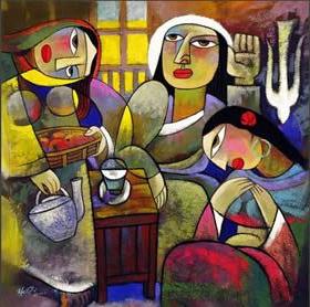 Mary and Martha-Qi