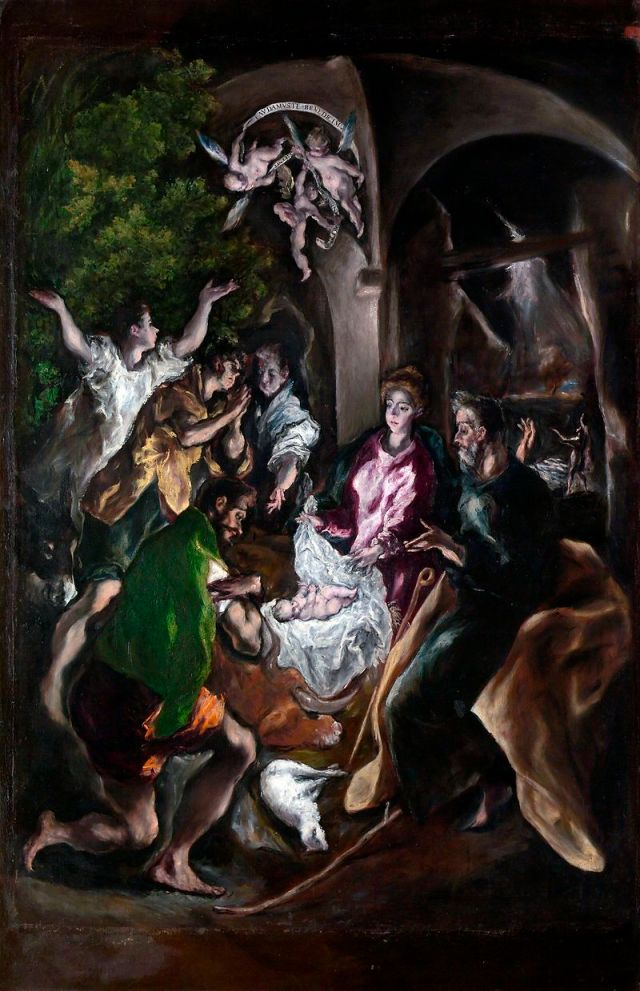 El_Greco_Adoration of the Shepherds