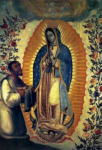 Juan Diego and Guadalupe